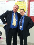 "Sra Krohn and Mr. Riley Getting into ""Twin"""