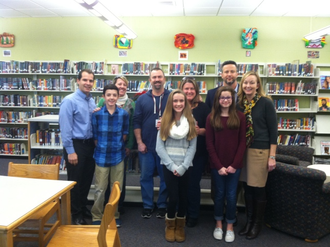 Madison Essay Contest Winners and Their Parents.